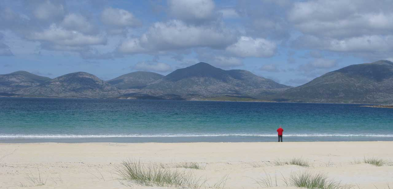 Losgaintir beach a favourite of Dollag's Cottage visitors