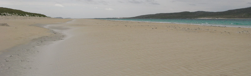 Losgaintir beach on the Isle of Harris