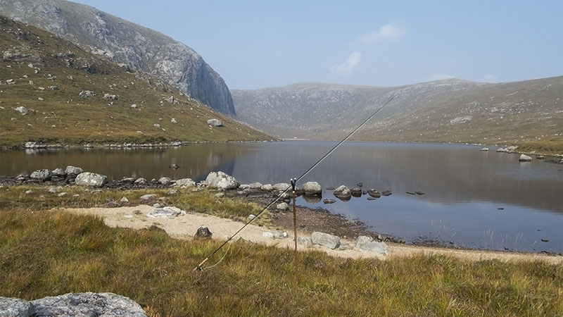 Sea trout fishing on the Isle of Lewis